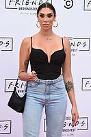 Tamara Joy<br /> arriving for FriendsFest 2021, Clapham Common, London.<br /> <br /> ©Ash Knotek  D3567 24/06/2021