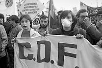 - Milano, sciopero regionale dell'industria contro il governo Fanfani (Gennaio 1983)<br /> <br /> - regionall strike of industry against the Fanfani government (January 1983)