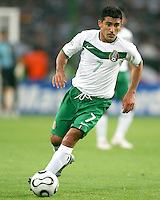 Zinha (7) of Mexico. Mexico and Angola played to a 0-0 tie in their FIFA World Cup Group D match at FIFA World Cup Stadium, Hanover, Germany, June 16, 2006.