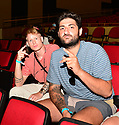 HOLLYWOOD, FLORIDA - JUNE 11: Teeqo and Nikan attend TikTok and YouTube personality face off during the LiveXLive's Social Gloves: Battle Of The Platforms Pre-Fight Weigh-In at Hard Rock Live! in the Seminole Hard Rock Hotel & Casino on June 11, 2021 in Hollywood, Florida.   ( Photo by Johnny Louis / jlnphotography.com )