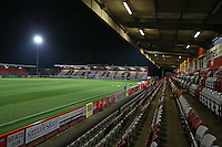 General view of the ground during Stevenage vs Southend United, Checkatrade Trophy Football at the Lamex Stadium on 8th November 2016