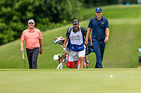 30th May 2021; Fort Worth, Texas, USA;  Jordan Spieth and Jason Kokrak walk up to the 8th green during the final round of the Charles Schwab Challenge on May 30, 2021 at Colonial Country Club in Fort Worth, TX.