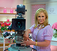PHOTO BY © STEPHEN DANIELS <br /> Mrs Kathy Hilton mother of Paris Hilton selling her Health and Beauty on the Shopping Channel