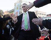 Logan Day (PC - 2) - The teams walked the red carpet through the Fan Fest outside TD Garden prior to the Frozen Four final on Saturday, April 11, 2015, in Boston, Massachusetts.