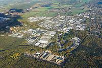 Gewerbegebiet Glinde: EUROPA, DEUTSCHLAND, SCHLESWIG-HOLSTEIN, GLINDE, 30.10.2019:Gewerbegebiet Glinde