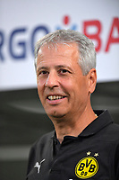 20.08.2018, Football DFB Pokal 2018/2019, 1. round, SpVgg Greuther Fuerth - Borussia Dortmund, Sportpark Ronhof in Fuerth. Trainer Lucien Favre (Dortmund)<br /><br /><br />***DFB rules prohibit use in MMS Services via handheld devices until two hours after a match and any usage on internet or online media simulating video foodaye during the match.*** *** Local Caption *** © pixathlon<br /> <br /> Contact: +49-40-22 63 02 60 , info@pixathlon.de