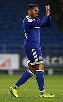 Kadeem Harris of Cardiff City after the final whistle of the Sky Bet Championship match between Cardiff City and Preston North End at Cardiff City Stadium, Wales, UK. Tuesday 31 January 2017