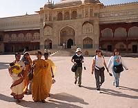Indien, Festung Amber bei Jaipur, Ganesha-Tor im Palast