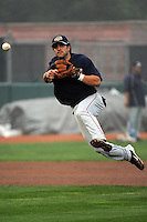 Brooklyn Cyclones infielder Rylan Sandoval (3) during first team workout at MCU Park in Brooklyn, NY June 15, 2010.  Photo By Tomasso DeRosa