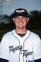 Lakeland Flying Tigers pitcher Tyler Alexander (15) poses for a photo before a game against the Brevard County Manatees on April 20, 2016 at Henley Field in Lakeland, Florida.  Lakeland defeated Brevard County 5-2.  (Mike Janes/Four Seam Images)