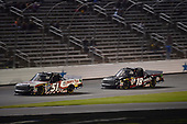 NASCAR Camping World Truck Series<br /> JAG Metals 350<br /> Texas Motor Speedway<br /> Fort Worth, TX USA<br /> Friday 3 November 2017<br /> Myatt Snider, Liberty Tax Service Toyota Tundra, Noah Gragson, Switch Toyota Tundra<br /> World Copyright: John K Harrelson<br /> LAT Images