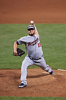 Minnesota Twins pitcher Glen Perkins during the MLB All-Star Game on July 14, 2015 at Great American Ball Park in Cincinnati, Ohio.  (Mike Janes/Four Seam Images)