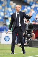 Massimiliano Allegri coach of Juventus FC during the Serie A football match between SSC Napoli and Juventus FC at Diego Armando Maradona stadium in Napoli (Italy), September 11th, 2021. Photo Andrea Staccioli / Insidefoto