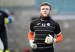 St Johnstone Training…..21.10.16<br />Keeper Zander Clark pictured during training ahead of Sunday's game against local rivals Dundee<br />Picture by Graeme Hart.<br />Copyright Perthshire Picture Agency<br />Tel: 01738 623350  Mobile: 07990 594431