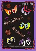 Lori, CUTE ANIMALS, LUSTIGE TIERE, ANIMALITOS DIVERTIDOS, halloween, paintings+++++3-HalloweenEyes,USLS102,#ac#, EVERYDAY