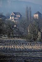 Europe/France/Midi-Pyrénées/46/Lot/Vallée de la Dordogne/Creysse: Le village