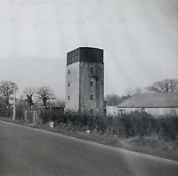 BNPS.co.uk (01202 558833)<br /> Pic: OnTheMarket/BNPS.<br /> <br /> Post war picture...<br /> <br /> A historic World War Two POW water tower has emerged on the market for £1.2million after being converted into a modern family home.<br /> <br /> The original red brick structure was once part of 78 Working Camp, which housed 700 Italian and German prisoners in the Essex countryside near Braintree.<br /> <br /> It doubled as a secret communications hub, sending early warning signals of enemy aircraft to Wethersfield, an American airbase five miles away.   <br /> <br /> The derelict tower, dating from 1938, and one acre plot in High Garrett, near Braintree, were bought by Jon Oakley and his wife Vicky for £285,000 in 2017. It had been unused since 1950.<br /> <br /> They have spent several hundred thousand pounds converting it into a five storey home with four en-suite bathrooms and a ground floor extension. A top level has been added to the 50ft structure to replace the water tank which was removed following the war.
