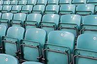 Empty seats ahead of Surrey CCC vs Essex CCC, Specsavers County Championship Division 1 Cricket at the Kia Oval on 12th April 2019