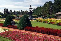 St. Cloud, MN, Minnesota, Munsinger Gardens in St. Cloud.
