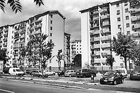 Milano, quartiere Quarto Oggiaro, periferia nord --- Milan, Quarto Oggiaro district, north periphery