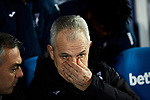 Javier Aguirre coach of CD Leganes during La Liga match between CD Leganes and Getafe CF at Butarque Stadium in Leganes, Spain. January 17, 2020. (ALTERPHOTOS/A. Perez Meca)