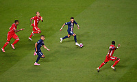 23rd August 2020, Estádio da Luz, Lison, Portugal; UEFA Champions League final, Paris St Germain versus Bayern Munich;  Neymar of Paris Saint-Germain breaks with the ball