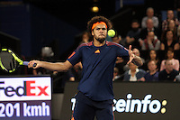 Jo Wilfried Tsonga remporte l'Open 13 de Marseille, le 26 février 2017.