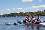 Rowing, Canada, Canadian Men's Lightweight Four, Timothy Meyers, Morgan Jarvis, Terrence McKall, Mike Lewis, stroke, 2010 FISA World Rowing Championships, Lake Karapiro, Hamilton, New Zealand, Heat, Monday 1 November,