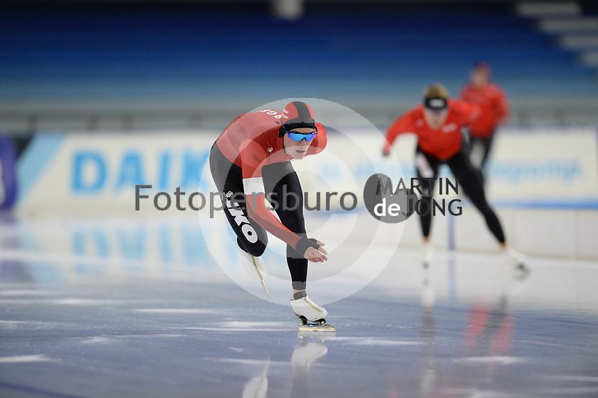 SCHAATSEN: HEERENVEEN: 10-10-2020, KNSB Trainingswedstrijd, Yves Vergeer, ©foto Martin de Jong