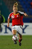 Leonie Maier (GER)..FIFA U17 Women's World Cup, Semi Final, Germany v USA, QEII Stadium, Christchurch, New Zealand, Thursday 13 November 2008. Photo: Renee McKay/PHOTOSPORT