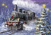 Marcello, CHRISTMAS LANDSCAPES, WEIHNACHTEN WINTERLANDSCHAFTEN, NAVIDAD PAISAJES DE INVIERNO, paintings+++++,ITMCXM2090,#XL# ,locomotive