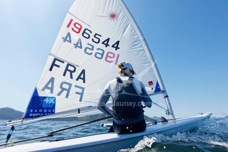 Rio de Janeiro Olympic Test Event - Fédération Française de Voile. Laser Radial, Mathilde De Kerangat.