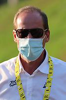 15th September 2020; Lyon, France; Tour De France 2020, La Tour-du-Pin to Villard-de-Lans, stage 16; Christian Prudhomme Director of Tour de France (ASO)