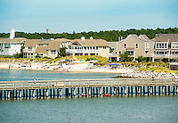 Beach condos, Lewes, Delaware, USA