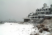 Winter Squall by the Surf, Block Island