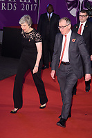 prime Minister Theresa May and husband, Phillip<br /> at the Pride of Britain Awards 2017 held at the Grosvenor House Hotel, London<br /> <br /> <br /> ©Ash Knotek  D3342  30/10/2017