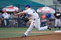 July 15, 2009: Omaha Royals left-hander Dusty Hughes pitches during the 2009 Triple-A All-Star Game at PGE Park in Portland, Oregon.