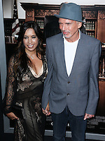 BEVERLY HILLS, CA, USA - OCTOBER 01: Connie Angland, Billy Bob Thornton arrive at the Los Angeles Premiere Of Warner Bros. Pictures And Village Roadshow Pictures' 'The Judge' held at the Samuel Goldwyn Theatre at The Academy of Motion Picture Arts and Sciences on October 1, 2014 in Beverly Hills, California, United States. (Photo by Xavier Collin/Celebrity Monitor)