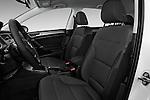 Front seat view of 2017 Volkswagen Golf S 5 Door Hatchback Front Seat  car photos