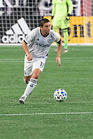 FOXBOROUGH, UNITED STATES - AUGUST 20: Alejandro Bedoya #11 of Philadelphia Union during a game between Philadelphia Union and New England Revolution at Gilette on August 20, 2020 in Foxborough, Massachusetts.