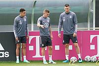 Jamal Musiala (Deutschland Germany), Toni Kroos (Deutschland Germany), Niklas Süle (Deutschland Germany) - Seefeld 04.06.2021: Trainingslager der Deutschen Nationalmannschaft zur EM-Vorbereitung