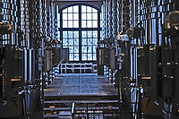 stainless steel tanks chateau haut brion pessac leognan graves bordeaux france