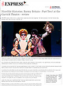 Barmy Britain - Part Two! at the Garrick Theatre - review | Theatre | Entertainment | Daily Express. 01.11.13