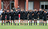 Action from the rugby union match between New Zealand Schools and Fiji Schools at Hamilton Boys' High School in Hamilton, New Zealand on Monday, 30 September 2019. Photo: Simon Watts / lintottphoto.co.nz