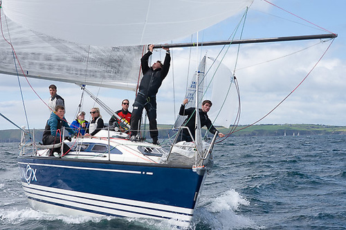 Howth yacht Equinox is a regular Sovereign's Cup competitor at Kinsale Photo: Afloat