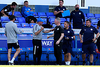 13th September 2020; Portman Road, Ipswich, Suffolk, England, English League One Footballl, Ipswich Town versus Wigan Athletic; Ipswich Town Manager Paul Lambert speaks with Wigan Athletic Manager John Sheridan after the final whistle