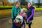 Elaine, Peter, Conor and Kate Jackson enjoying a stroll in the Tralee town park on Saturday.