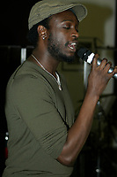 Corneille at the rehersal for the  SHOW DU REFUGE<br />  ; a benefit for the homeless in Montreal.<br /> <br /> (c) : JP Proulx 2006, Images Distribution