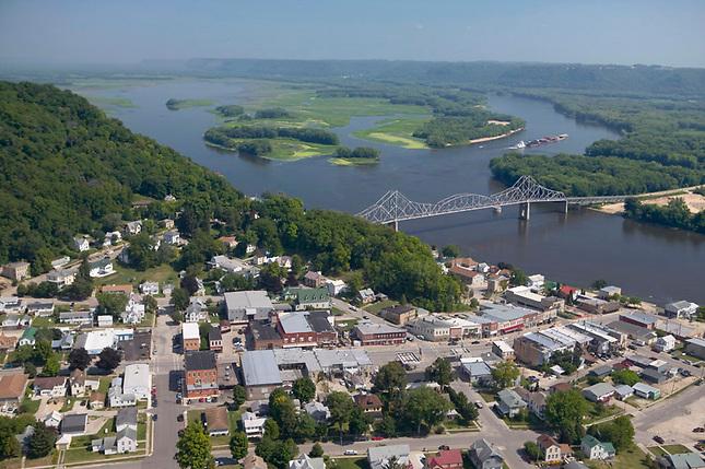 Mississippi River at Lansing, Iowa