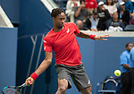 September 2,2019:  Gael Monfils (FRA) defeated Pablo Andujar (ESP) 6-2, 6-2, 6-1, at the US Open being played at Billie Jean King National Tennis Center in Flushing, Queens, NY.  ©Jo Becktold/CSM